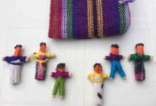 Offer your child Guatemala worry dolls